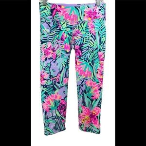 "Lilly Pulitzer UPF 50 Luxletic 21"" Cropped Legging"